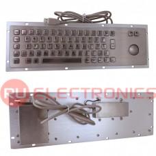 Клавиатура цифровая антивандальная RUICHI RB01-65-RM, USB