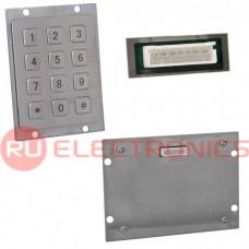 Клавиатура цифровая антивандальная RUICHI RPS01-12-RM, pin