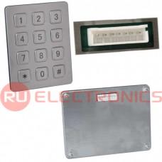 Клавиатура цифровая антивандальная RUICHI RPS01-12-TM, pin