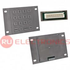 Клавиатура цифровая антивандальная RUICHI RPS03-16-RM, pin