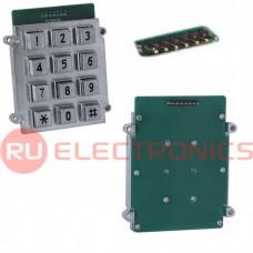 Клавиатура цифровая антивандальная RUICHI RPZ01-12-RM, pin
