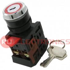 Ключ выключатель RUICHI 3SA12-22E-11Y/21