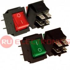 Клавишный переключатель RUICHI IRS-201-2C, ON-OFF