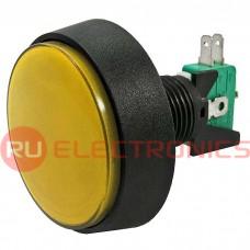 Кнопка GMSI RUICHI 1B-C no-nc+nc-no, желтая