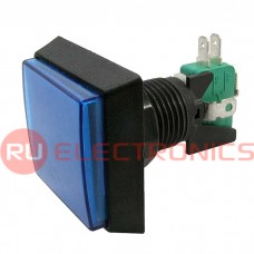 Кнопка GMSI RUICHI 2B-S no-nc+nc-no, синяя, 50 мм