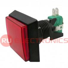 Кнопка GMSI RUICHI 2B-S no-nc+nc-no, красная, 50 мм