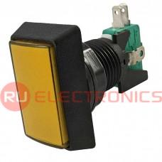 Кнопка GMSI RUICHI 3B-R no-nc+nc-no, желтая