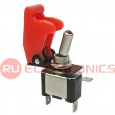 Тумблер RUICHI SAC-01 ASW-07D, LED, красный