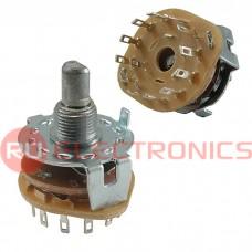 Галетный переключатель RUICHI SR25-1-1-12 на провод