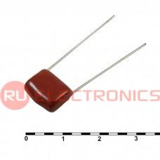 Металлопленочный конденсатор RUICHI 0.22 мкФ, 100 В, 10%, CL21