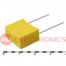 Металлопленочный конденсатор RUICHI 0.1  мкФ, 275 В AC 10% (X2)
