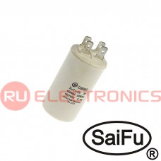 Пусковой конденсатор SAIFU CBB60, 3 мкФ, 450 В