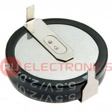 Ионистор RUICHI 5R5D20F180H, 2.0 ёмкость, 5.5 В