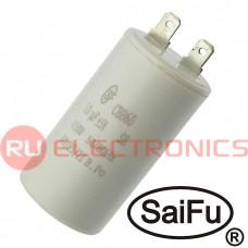 Пусковой конденсатор SAIFU CBB60, 10 мкФ, 450 В