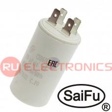 Пусковой конденсатор SAIFU CBB60, 15 мкФ, 450 В
