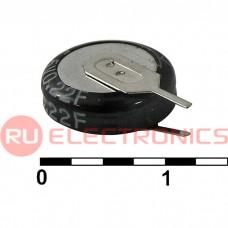 Ионистор RUICHI 5R5D11F22V, 0.22 ёмкость, 5.5 В