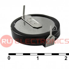 Ионистор RUICHI 5R5D20F100H, 1.0 ёмкость, 5.5 В