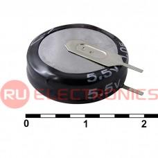 Ионистор RUICHI 5R5D20F100V, 1.0 ёмкость, 5.5 В