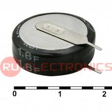 Ионистор RUICHI 5R5D20F180V, 1.8 ёмкость, 5.5 В