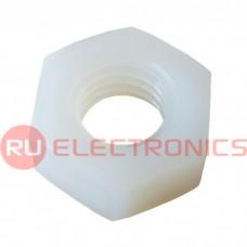 Гайка пластиковая RUICHI DIN 555 М4, PA66