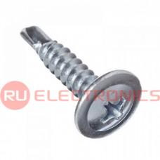 Саморез с прессшайбой гипсокартон-металл RUICHI 4,2х13 мм