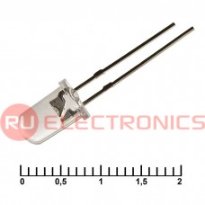 Светодиод RUICHI 5RGWC, 30000 мКД, 3,4 В, угол излучения 15 градусов