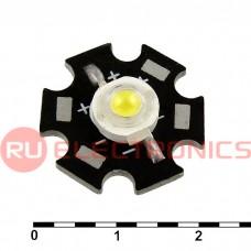 Светодиод мощный RUICHI, 1 Вт, 3.4 В, 90-100 ЛМ, 6000-6500K