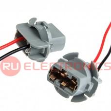 Коннектор для светоарматуры RUICHI 7440/T20, одинарный, пластиковый, длина проводов 100 мм