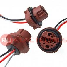 Коннектор для светоарматуры RUICHI 7443/T20, пластиковый, длина проводов 100 мм