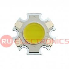 Светодиод мощный RUICHI, 3 Вт, 12 В, 90 ЛМ, 6000K, 11 мм, COB