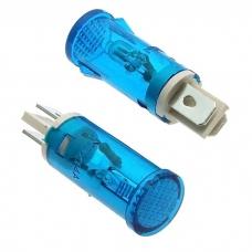 Лампочка неоновая в корпусе RUICHI MDX-14, синяя