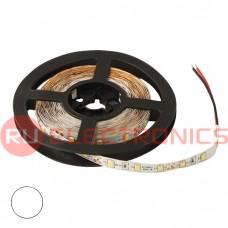 Светодиодная лента RUICHI, 2835, 300 LED, IP33, 12 В, цвет белый тёплый, длина 5 м