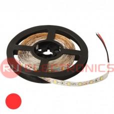 Светодиодная лента RUICHI, 2835, 300 LED, IP33, 12 В, цвет красный, длина 5 м