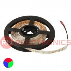 Светодиодная лента RUICHI, 2835, 300 LED, IP33, 12 В, RGB, длина 5 м