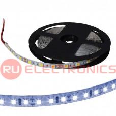 Светодиодная лента RUICHI, 5050, 300 LED, IP33, 12 В, цвет белый тёплый, длина 5 м
