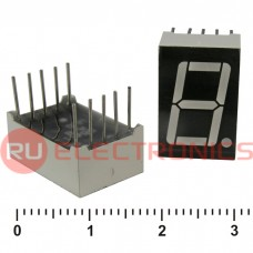 Цифровой индикатор RUICHI KEM-5161BR, красный