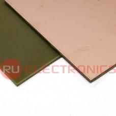 Текстолит RUICHI FR4-1 1.5 мм 100*100, фольгированные одностороннее