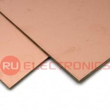 Текстолит RUICHI FR4-2 1.5 мм 100*100, фольгированные двухстороннее