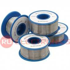 Припой RUICHI Sn60/Pb40 d0.5 мм 100g flux, катушка