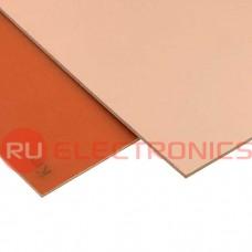 Текстолит RUICHI FR1-1 1.5 мм 100*100, фольгированные одностороннее