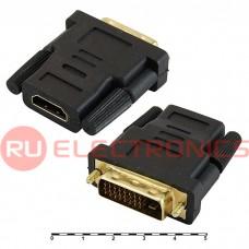 Разьем HDMI/DVI RUICHI HDMI F/DVI24+1M (HAP-006), 24 контакта