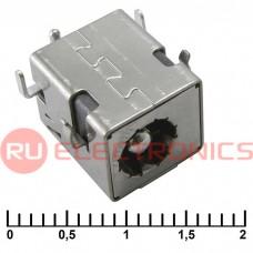 Разъём питания штырьковый RUICHI PJ017 2.5 мм, SMD монтаж