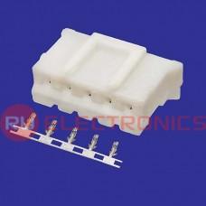 Разъём питания низковольтный RUICHI HB-05 (MU-5F) 2.0 мм + зажим