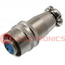 Разъем быстроразъемный RUICHI XS9-2(Zn) cable jack, 2-х контактый