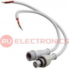 Разъём герметичный RUICHI 2pin WP L=40 D=13 мм 2*0.3 мм2, 2 контакта