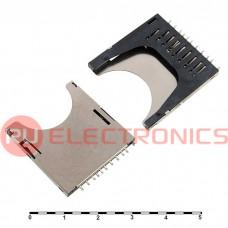 Держатель SIM RUICHI SD-03 push fix, 3 контакта