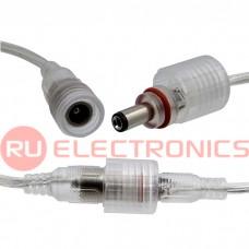 Разъём герметичный RUICHI Waterproof pair DC5.5 мм, 2 контакта