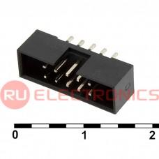 Разъём IDC RUICHI BH2-10(IDC2-10MS)наклон 2.00 мм, 10 контактов