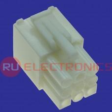 Разъём питания низковольтный RUICHI MFC 3x3F, 4.5 мм с зажимом