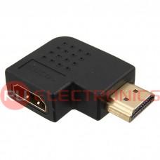 Разьем HDMI/DVI RUICHI HDMI F/M R, угловой